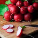 Fraîcheur de radis noir et de betterave