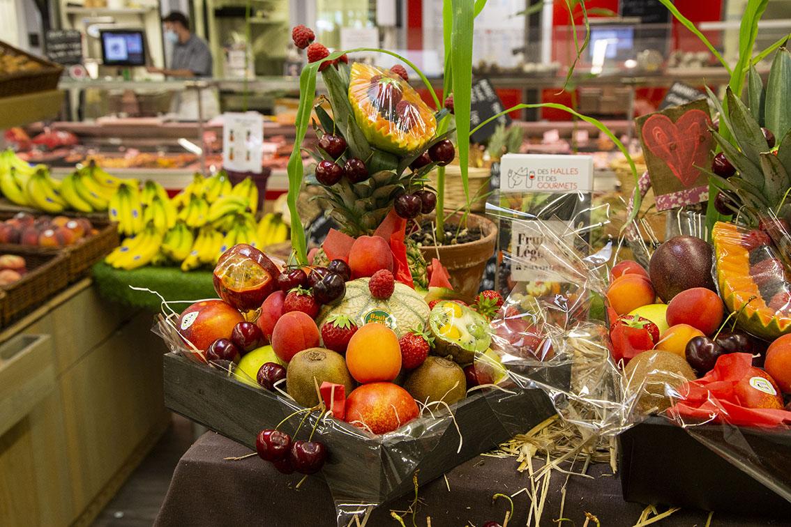 IFCAS, photo Xavier Renauld, Corbeilles de Fruits, des halles et des gourmets, angers, primeurs, primeurs bio