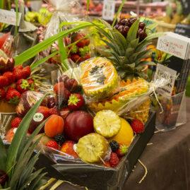 corbeilles de fruits d'été, IFCAS, des halles et des gourmets, primeurs bio