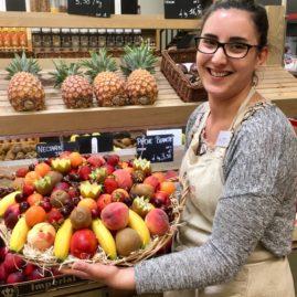Corbeille de fruits Aurélie Primeurs des Halles et des Gourmets ANGERS