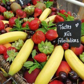 Corbeille de Fruits Mariage des halles et des gourmets angers