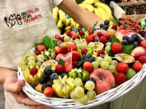 Corbeille de Fruits DES HALLES ET DES GOURMETS