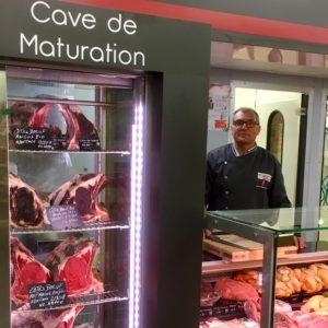 Hervé Boucherie des Halles, Cave de Maturation