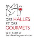Logo Des Halles et des Gourmets portrait