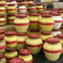 Moutardes Domaine des Terres Rouges des Halles et des Gourmets janvier 2019