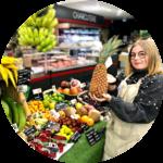 Léa Mroinière, primeurs, fruits exotiques, des halles et des gourmets, Angers