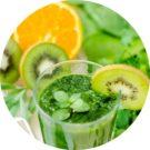 smoothie aloe vera basilic citron