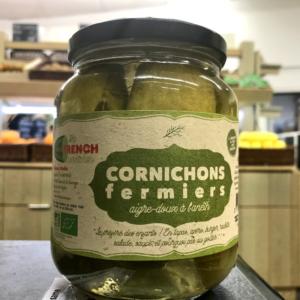 Cornichons Français, La French Cornichon, cornichons bio, fermiers et naturels