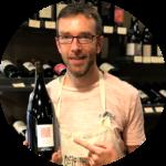 Christophe cuvée Vin De Jardin La Grange aux belles, été 2020, cave angers cavistes angers vin naturel angers vin nature
