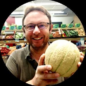 Laurent Moriniere, fruit de saison, été, melon, melon bio, fruits bio, fruit de saison, fruits et légumes de saison, primeurs bio angers, fruits et légumes bio angers, été 2020, produit de saison, coup de coeur du patron
