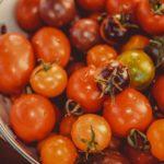 tomates colorees pour taboulé de sarrasin aux peches