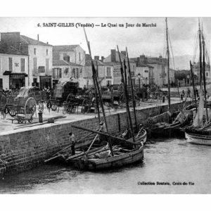 photo d'archive : le porte de saint gilles croix de vie. source : LA PERLE DES DIEUX