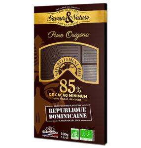 Tablette Chocolat Saveurs et Nature