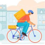 illustration service livraison des halles et des gourmets Angers