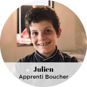 Julien, Apprenti Boucher Passionné, la boucherie des gourmets, boucherie les ponts-de-cé
